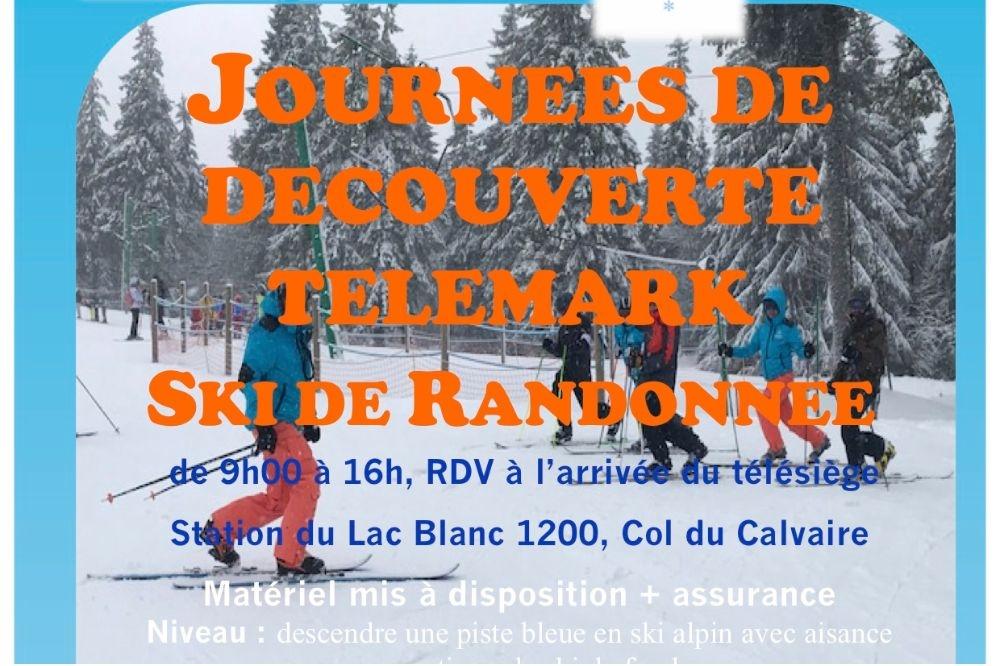 Découverte Télémark et ski de randonnée au Lac Blanc
