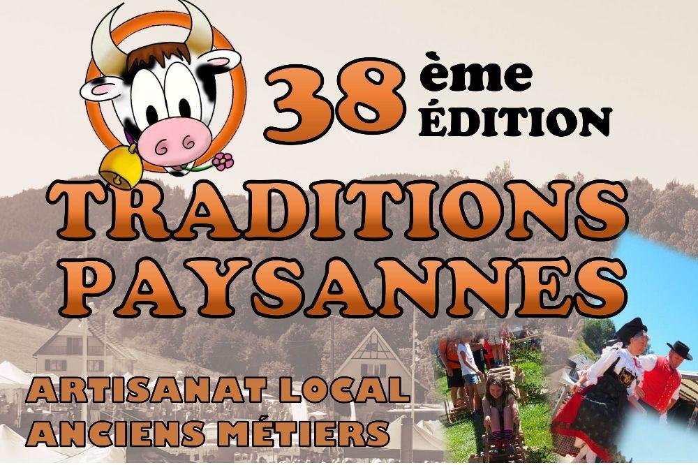 Traditions paysannes Le Bonhomme Dimanche 11 Août 2019