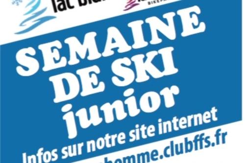 Semaine de ski JUNIOR en Février