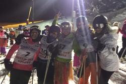 Les Filles font du Ski
