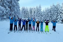 Entrainement pré-hivernal en ski de fond