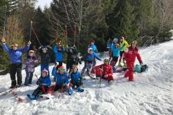 Entrainement au Lac Blanc du 29/02/2020