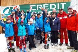 Course La Bresse U8 à U14 7 Mars 2020